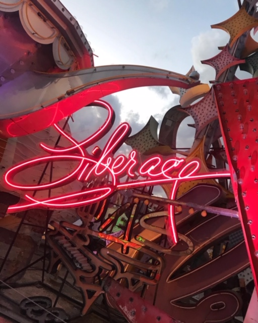 currently crushing, las vegas neon museum, vegas neon museum, vegas travel