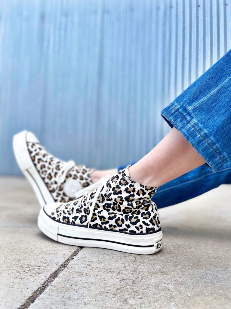 Cheetah Chucks